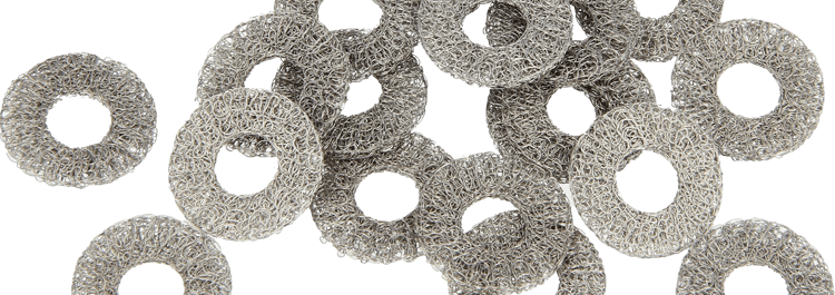1250-Knitted wire mesh washers & disks-header