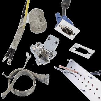 Kabel afscherming & ingangen