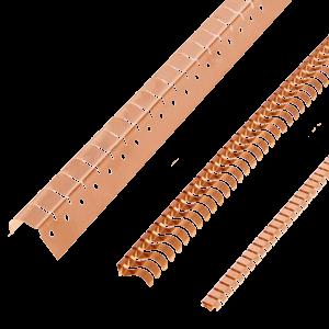 Angled fingerstrips