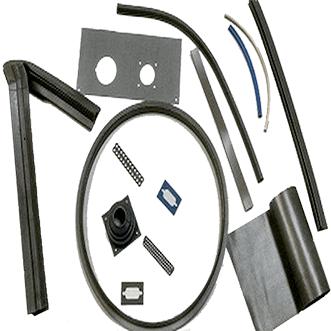 Silicone shielding elastomer