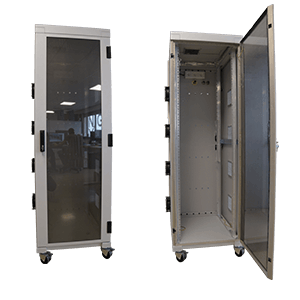 Full size shielded racks