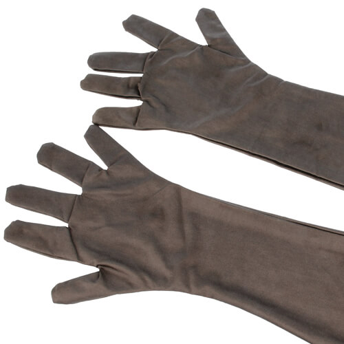 For the highest shielding performance a suit in combination with EMI shielding gloves is recommended