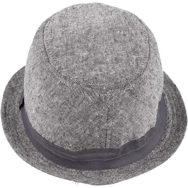 Shielded hat in a light gray color